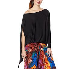 """""""As Is"""" Coldesina Jenny Convertible Long Sleeve Top"""