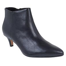 """As Is"" Collection by Clarks Linvale Sea Leather or Suede Bootie"