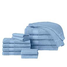 """As Is"" Concierge Collection 100% Turkish Cotton 14-pc Resort Bath ..."