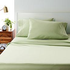 """""""As Is"""" Concierge Collection 4-piece 400TC Cotton Tencel™ Sheet Set"""