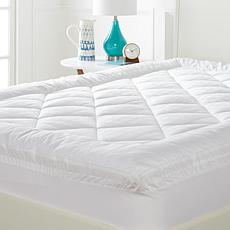 """As Is"" Concierge Collection 450TC 100% Cotton Mattress Pad"