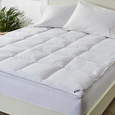 """As Is"" Concierge Collection Overfilled CoolMax® Mattress Topper"