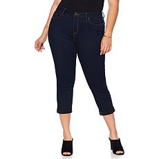 """""""As Is"""" Curations Free-Stretch Cropped Skinny Jean"""