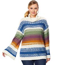 """As Is"" Curations Multicolored Knit Sweater"