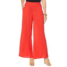 """As Is"" Curations Wide Leg Gauze Pant"