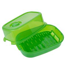 """""""As Is"""" Debbie Meyer GreenBoxes™ Home Collection 3-piece Steamer Set"""
