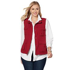 """As Is"" Destinations Women's 15-Pocket Travel Vest"