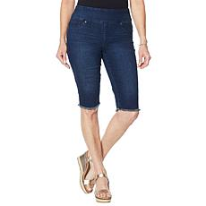 """""""As Is"""" DG2 by Diane Gilman Classic Stretch Pull-On Bermuda Short -..."""