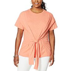 """""""As Is"""" DG2 by Diane Gilman Convertible Flutter Top"""