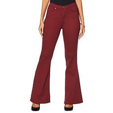 """As Is"" DG2 by Diane Gilman Virtual Stretch Flare Jean - Fashion"