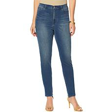 """""""As Is"""" DG2 by Diane Gilman Virtual Stretch Up-Lifter Skinny Jean -..."""
