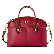 """As Is"" Dooney & Bourke Camden Saffiano Leather Domed Satchel"