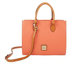 """""""As Is"""" Dooney & Bourke Janine Leather Tote - Fashion"""