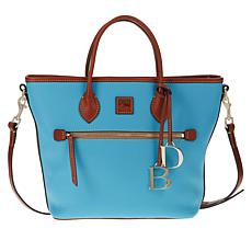 """As Is"" Dooney & Bourke Pebble Leather Handle Tote"