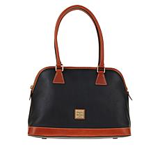 """As Is"" Dooney & Bourke Pebble Leather Shaina Satchel"