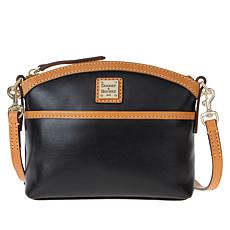 """""""As Is"""" Dooney & Bourke Wexford Leather Domed Crossbody - Basic"""