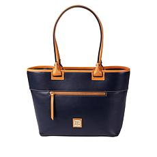 """""""As Is"""" Dooney & Bourke Wexford Leather Zip Tote - Core"""