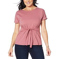 """""""As Is"""" Eden & Ivy """"Tulip"""" Cuffed-Sleeve Top"""