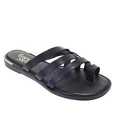 """""""As Is"""" Franco Sarto Goddess Leather Sandal"""
