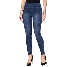 """As Is"" G by Giuliana 4-Way Stretch Denim Legging"