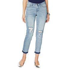 """As Is"" G by Giuliana Downtown Denim Best Friend Jean"