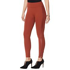 """As Is"" G by Giuliana Jet Set G Legging with Side Stripe"