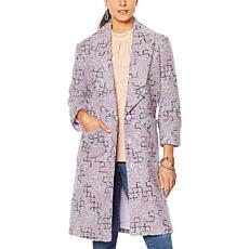 """""""As Is"""" G by Giuliana Novelty Tweed Jacket"""