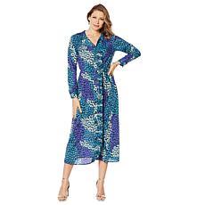 """As Is"" G by Giuliana Pleated Trim Maxi Dress"