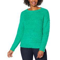 """As Is"" G by Giuliana Smushey Yarn Sweater"