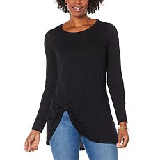 """""""As Is"""" G by Giuliana Twist-Front Tunic"""