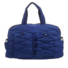 """""""As Is"""" Girlfriend Gear Diamond Quilt Large Dome Carryall Bag"""