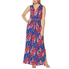 """""""As Is"""" IMAN Global Chic Flawless Knit Maxi Dress"""