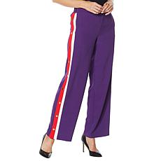 """""""As Is"""" IMAN Global Chic Track Suit Pant"""