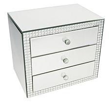 """As Is"" JM by Julien Macdonald Three Drawer Jeweled Box"