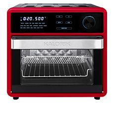 """As Is"" Kalorik MAXX 16-Quart 9-in-1 Air Fryer Oven"