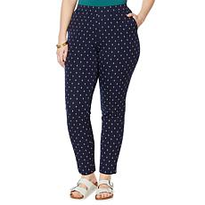 """""""As Is"""" Lemon Way Flawless Twill Pull-On Ankle Pant"""