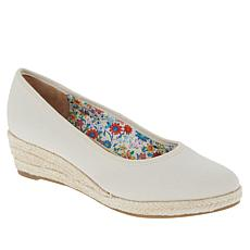 """As Is"" LifeStride Karma Espadrille Wedge Pump"