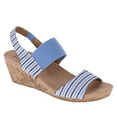 """As Is"" LifeStride Maldives Cork Wedge Sandal"