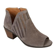 """As Is"" Lucky Brand Bahrie Leather Shootie"