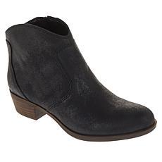 """As Is"" Lucky Brand Belia Leather Ankle Bootie"