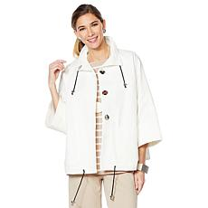 """As Is"" MarlaWynne Canvas Drama Jacket"