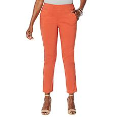 """As Is"" MarlaWynne FLATTERfit Pant with Pockets"