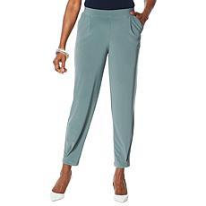 """As Is"" MarlaWynne Jersey Slouch Pants"