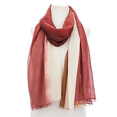 """""""As Is"""" MarlaWynne Printed Voile Scarf"""