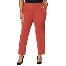 """As Is"" MarlaWynne Pull-On Luxe Jersey Easy Pant"