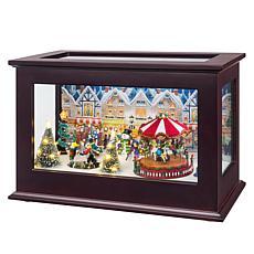 """As Is"" Mr. Christmas Animated Music Box"