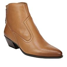 """""""As Is"""" Naturalizer Wallace Leather Western Bootie"""