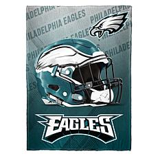 """As Is"" Officially Licensed NFL Fleece Speed Flex Throw - Eagles"