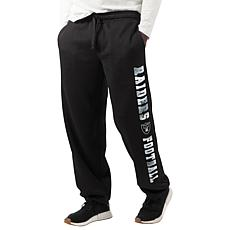 """""""As Is"""" Officially Licensed NFL Game Time Sweatpant by Glll - Raiders"""