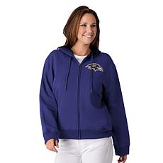"""""""As Is"""" Officially Licensed NFL Women's Full-Zip Hoodie by Glll - R..."""